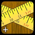 Fast Feet & Inches Calculator+ icon