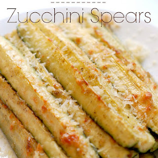 Parmesan Baked Zucchini Spears.