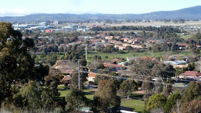 Photo: On Ngunnawal Ridge south end looking over Gungahlin Town Centre