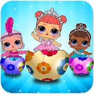 lol surprise eggs dolls opening game APK icon