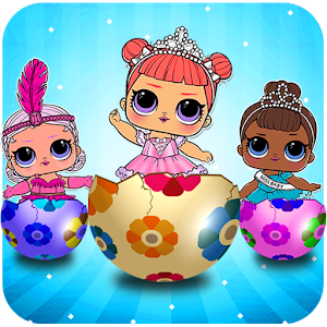 lol surprise eggs dolls opening game APK Download for Android