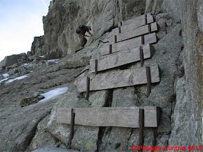 Photo: IMG_4407 tratto attrezzato sulla Cresta dei Monzoni