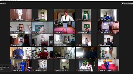 La EDM Mytos participa en un entrenamiento virtual junto a 600 judokas del mundo