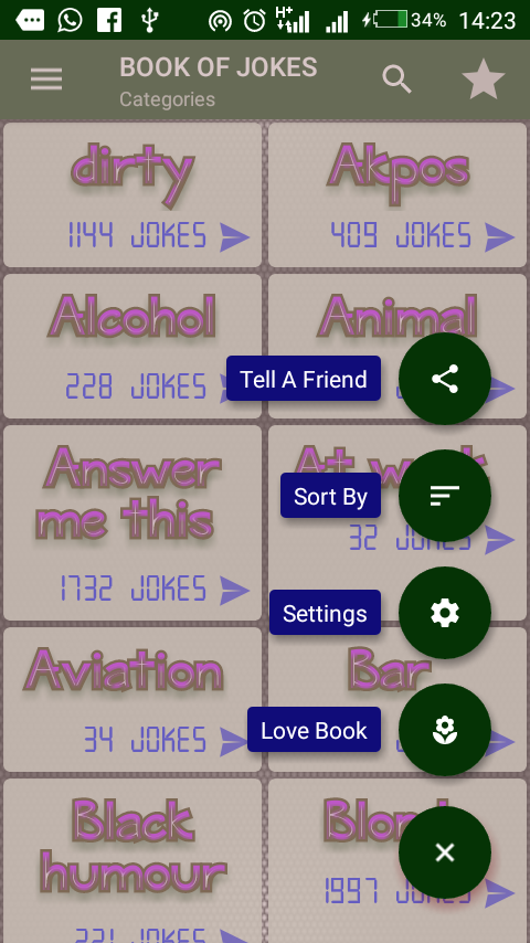 Book Of Jokes- screenshot