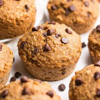 Healthy Almond Joy Bran Muffins.