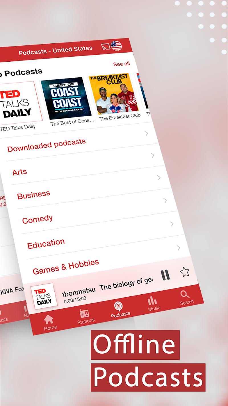 myTuner Radio App: FM Radio + Internet Radio Tuner Screenshot 4