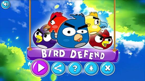 Shoot Angry Bird : Bird Defend