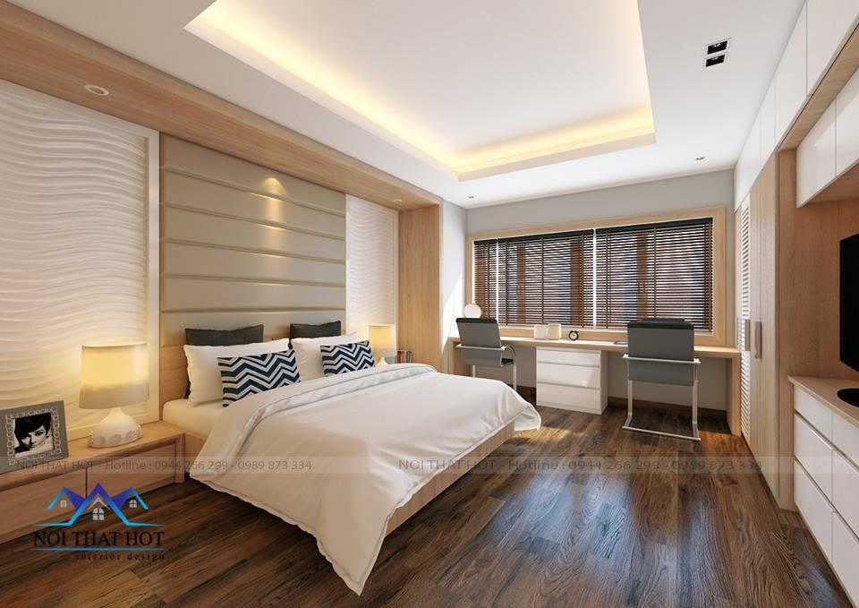 thiết kế phòng ngủ trẻ trung, thiết kế chung cư ấn tượng