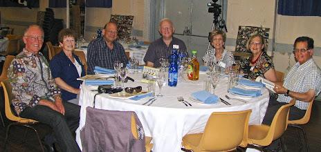 Photo: Henry, Judy, Ian, David & Helen Layman,Debbie & David Deston