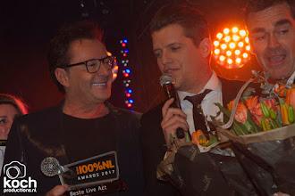 Photo: 20-02-2018: Nieuws: Uitreiking van de 100% NL Awards: AmsterdamBeste live act, Jeroen van den Boom, Gerard Joling