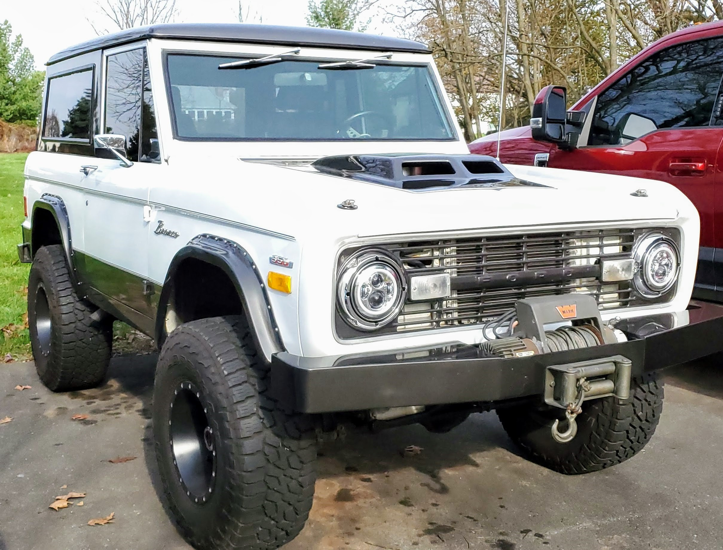 Ford Bronco Hire Hillsborough