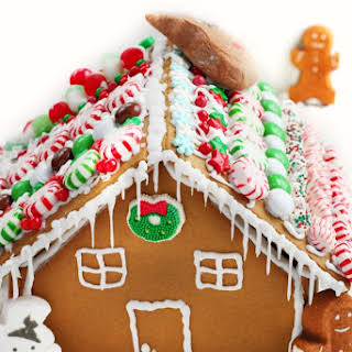 Gingerbread House Recipe With Step By Step Photos.
