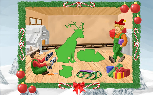 Christmas Puzzle Game - Christmas Games