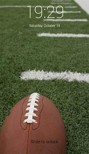 New NFL LockScreen - náhled