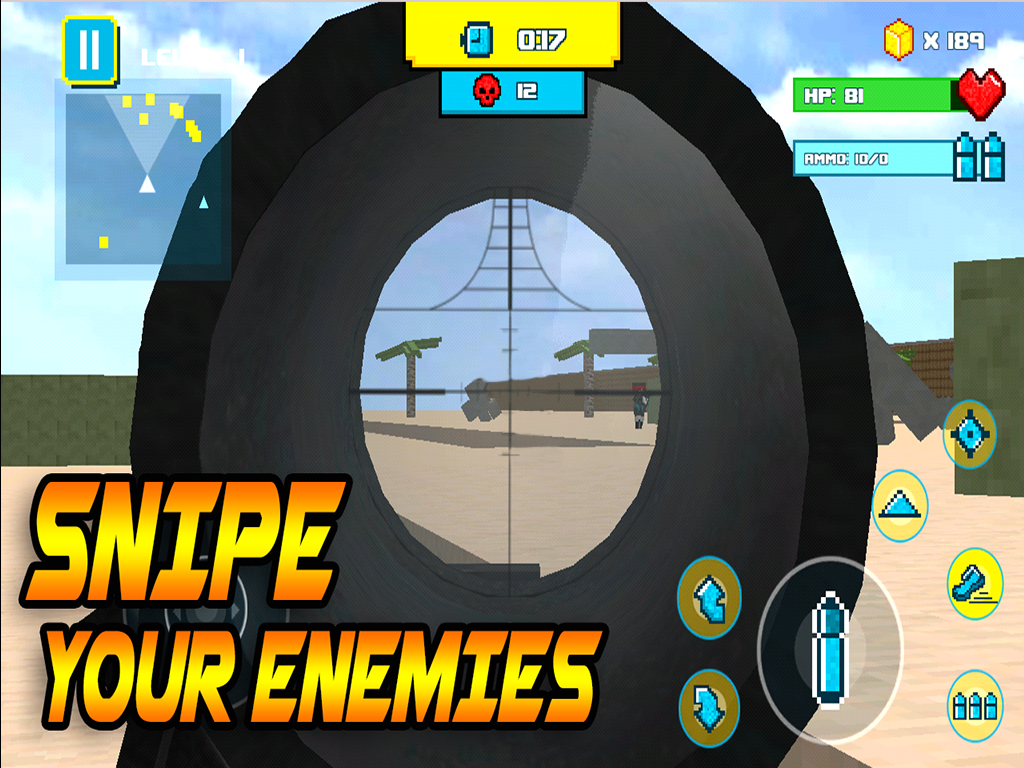 Block Mine Beach Bomb- screenshot