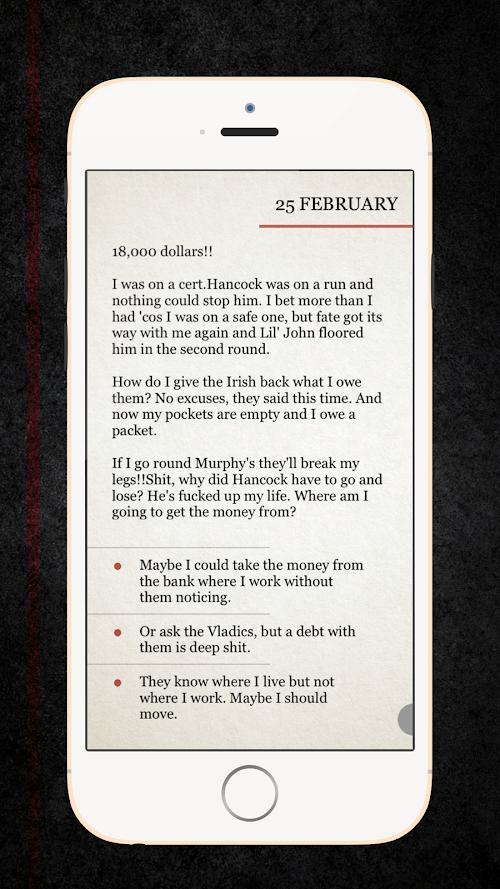 Screenshot 2 Deadman Diaries 2.1.2 APK MOD