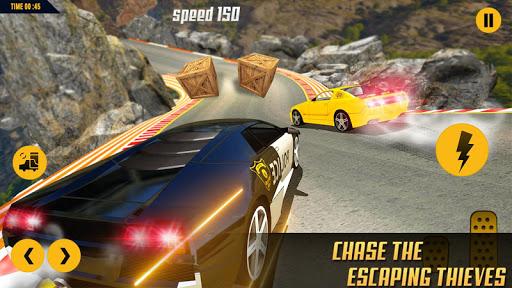 مطاردة سيارة الشرطة المستحيلة: ألعاب السيارات المثيرة 2020 لقطات 9
