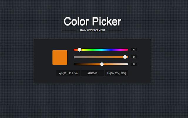 Advance Color Picker