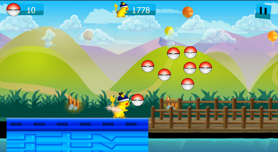 Super Pikachu adventure game- screenshot thumbnail