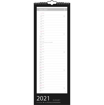 Lilla Miljökalendern Elegant