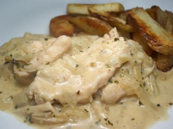 Chicken With Onions And Garlic Recipe