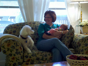 Photo: With Grandma and Buster