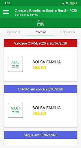 Consulta Benefícios Sociais Brasil - 2020 screenshot 3