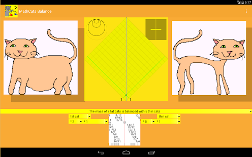 MathCats balance- screenshot thumbnail