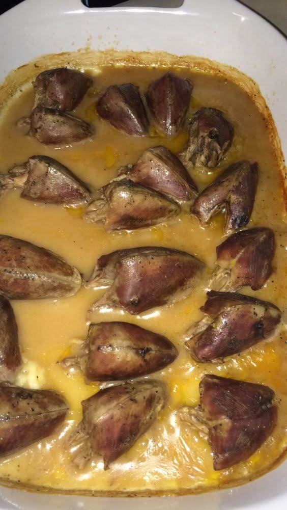 Smothered Dove In Gravy