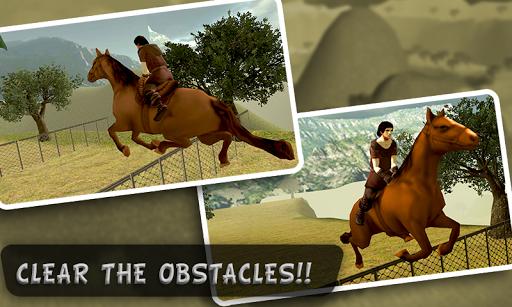 ヒル乗馬3Dを登ります