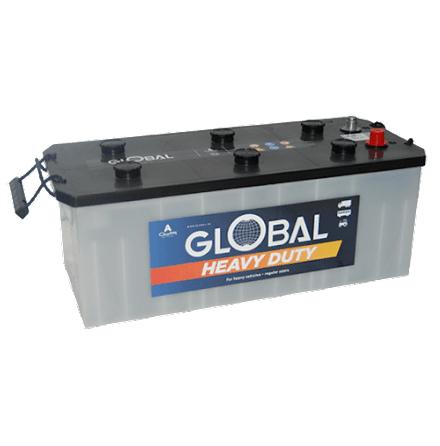 Bilbatteri 12V 140Ah Global