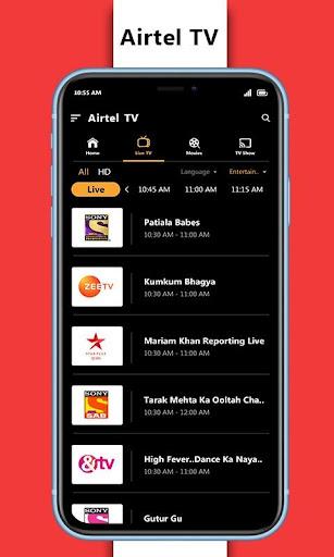 Tips for Airtel TV &  Digital TV Channels 2020 screenshot 2