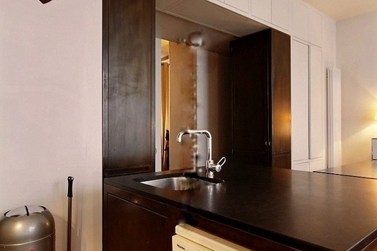 Kitchen at Paris Grands Boulevards Serviced Apartment, Opera