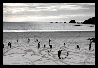 Photo: Working with the public. Island of Jersey. Photo: Stepane Gimenez Photography