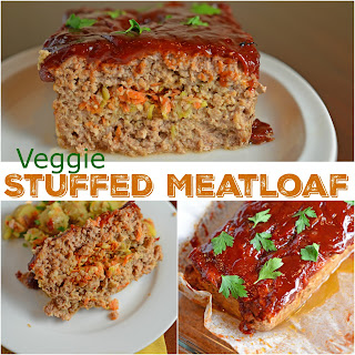 Stuffed Meatloaf.