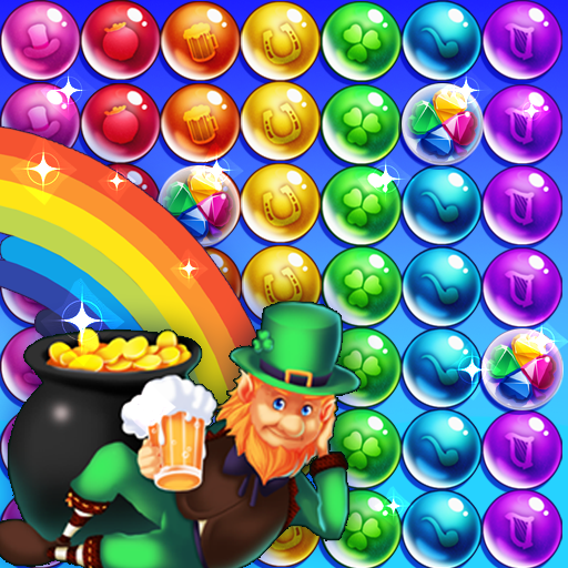 Bubble shooter Saint Patrick's day