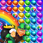 Bubble shooter Saint Patrick's day Icon