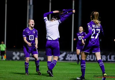 Super League : Anderlecht s'impose avec une Tessa Wullaert cinq étoiles
