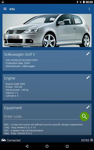 OBDeleven PRO car diagnostics app VAG OBD2 Scanner  screenshots 23