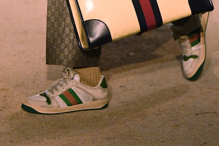 aebdc4651e Gucci kicks up a fuss with R12k sneakers that look old & dirty