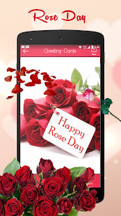 Rose Day Greeting cards Maker - náhled