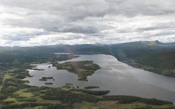 Photo: Kultsjön med Klimpfjäll längst bort
