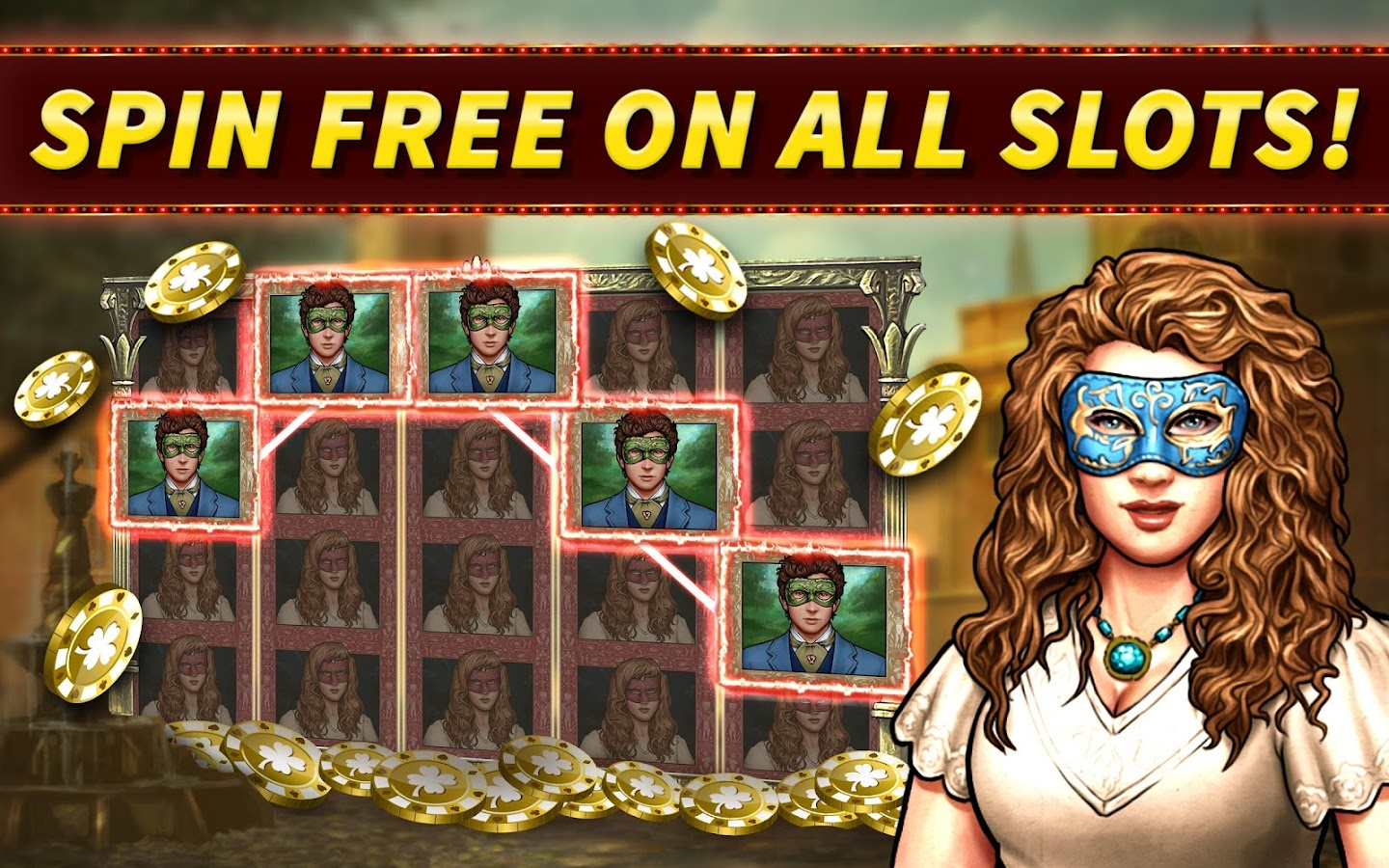 SLOTS: Shakespeare Slot Games!- screenshot