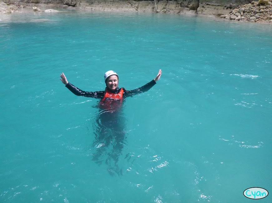 canyoneering Cebu adventure