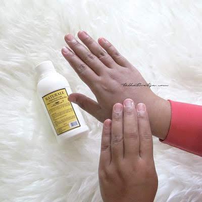 cara penggunaan naturale brightening cream