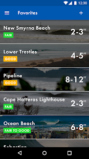 Surfline Surf Cams, Forecasts- screenshot thumbnail