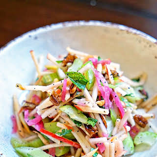 Matchstick Apple and Celery Salad.