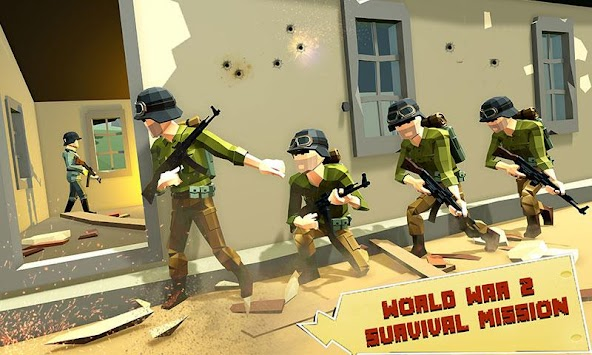 US Army Call of WW2 Battleground World War Games