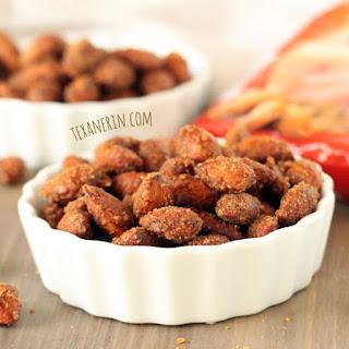 Healthier Maple Cinnamon Candied Almonds