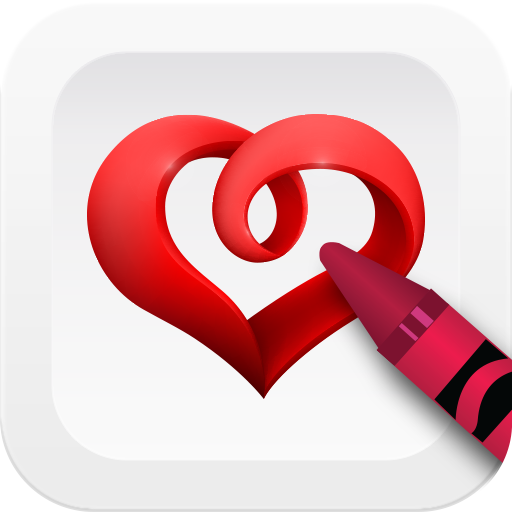 Draw Hearts Step By Step 遊戲 App LOGO-硬是要APP